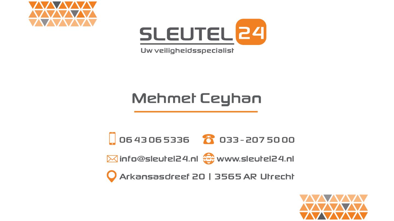 Visitekaartje Sleutel24