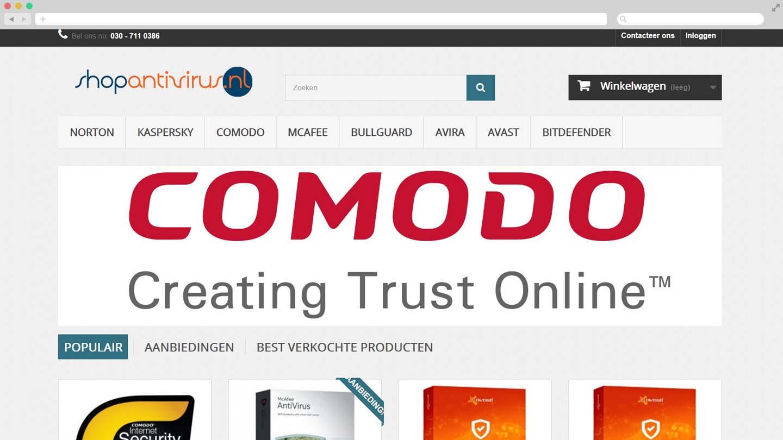 Webshop Shop Antivirus
