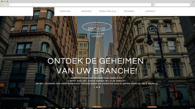 Website Certificaat Specialist