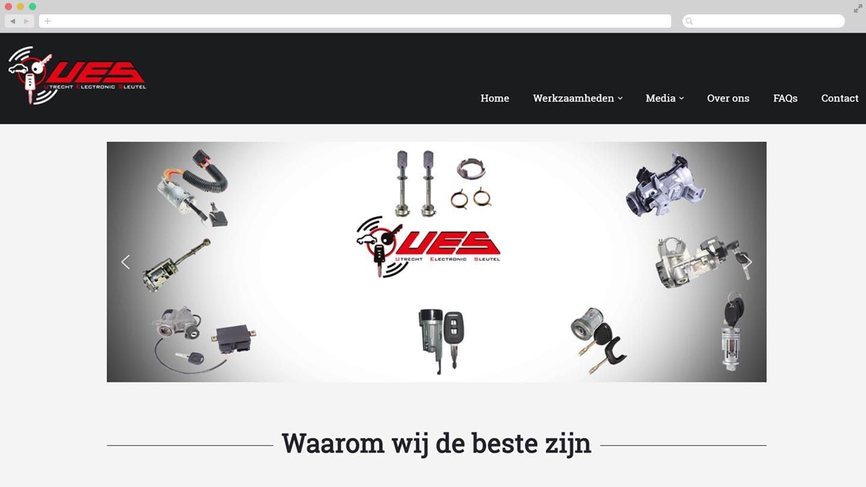 Website Utrecht Electronic Sleutel
